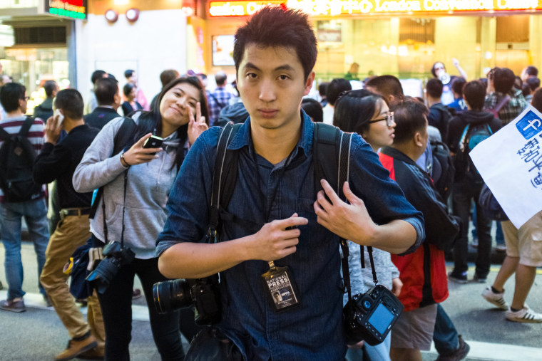 Anthony Kwan, a Hong Kong-based photojournalist, was arrested in August on charges of violating Thai law for possessing a bulletproof vest and helmet.