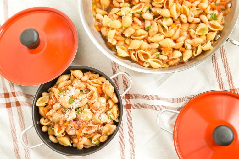 One-pot pasta fagiole recipe