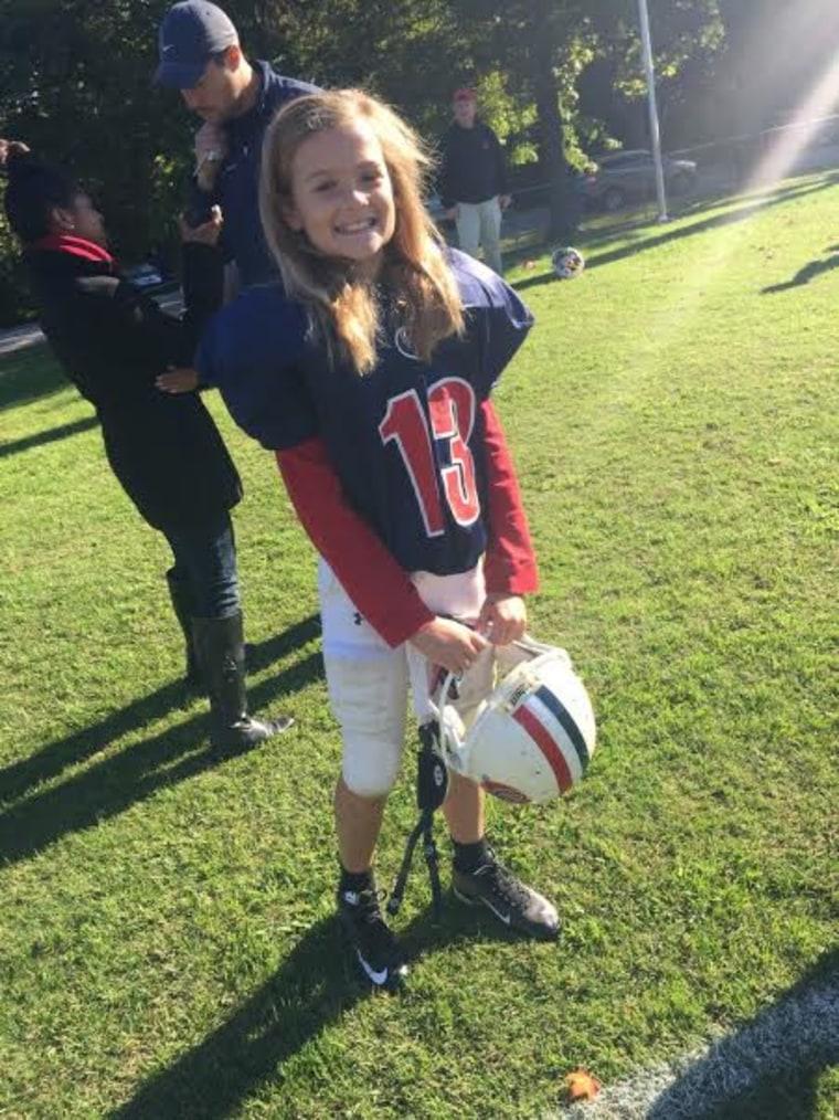 Juliette Haming, girl football player