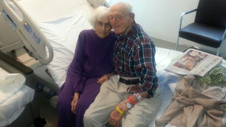 Raymond and Mazie Huggins insisted on having heart surgery on the same day at Cleveland Clinic last September.