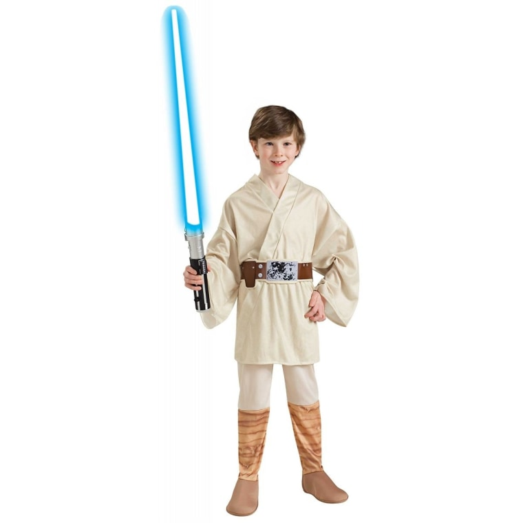 Star Wars costumes will be popular this Halloween, especially for kids.