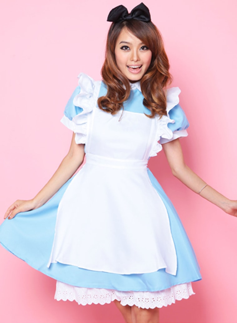 Alice in Wonderland is a popular costume according to eBay this Halloween