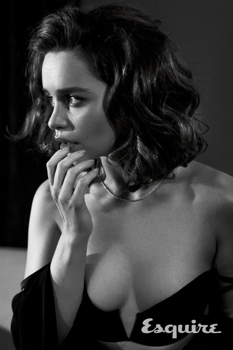 Emilia Clarke is Esquire's 2015 Sexiest Woman Alive