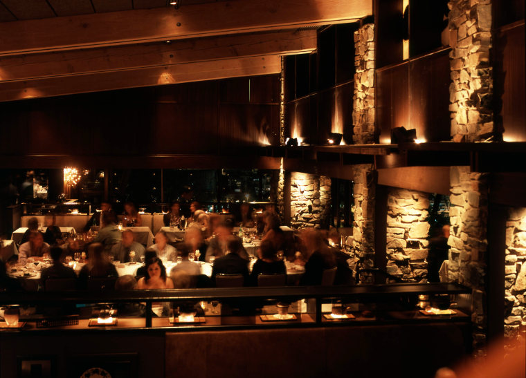 Canlis Restaurant in Seattle, Washington