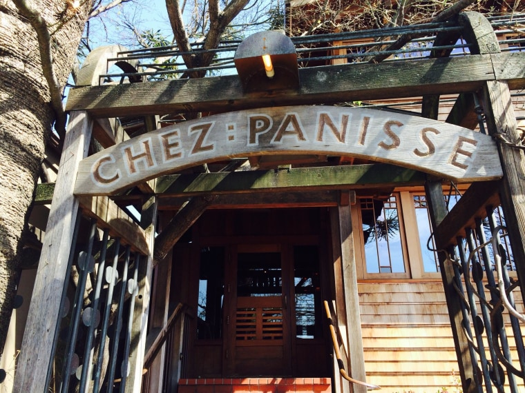Chez Panisse in Berkeley, California