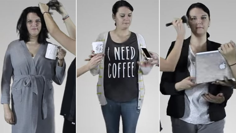 24 Hours of Mom Fashion in 2 Minutes