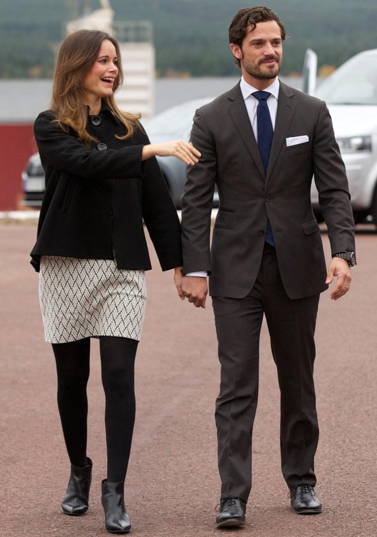 Prince Carl Philip of Sweden and Princess Sofia Visit Dalarna - Day 2