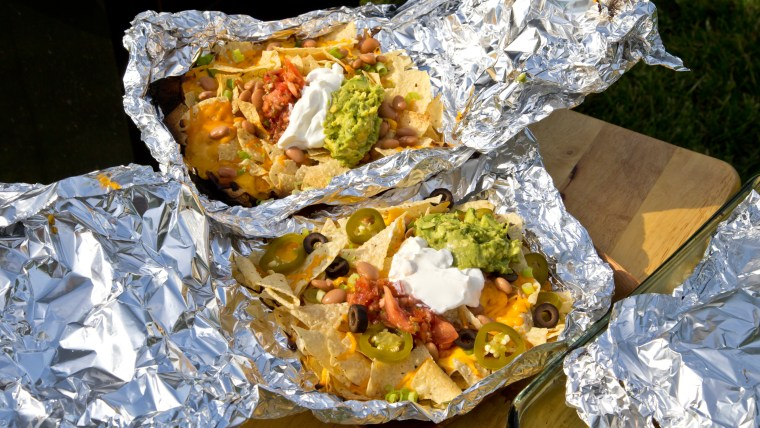 These nachos are perfect for tailgating