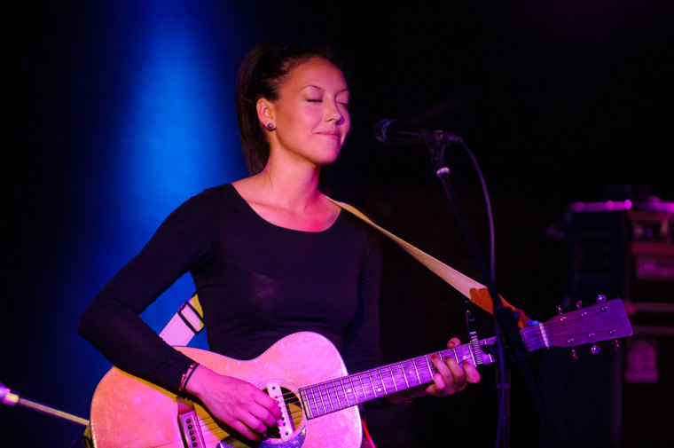 Amy Vachal performs at Mercury Lounge.