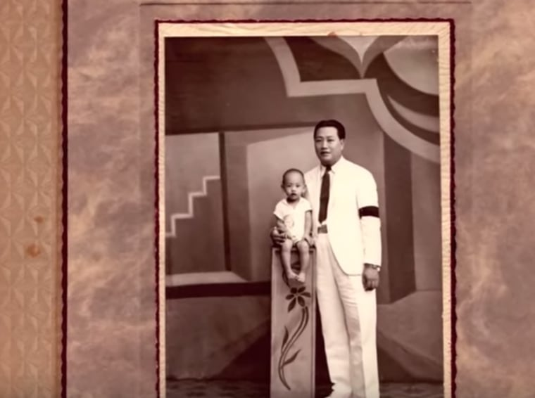 The only evidence Charles Chiu had of his father, before he left for America, was a single photograph.