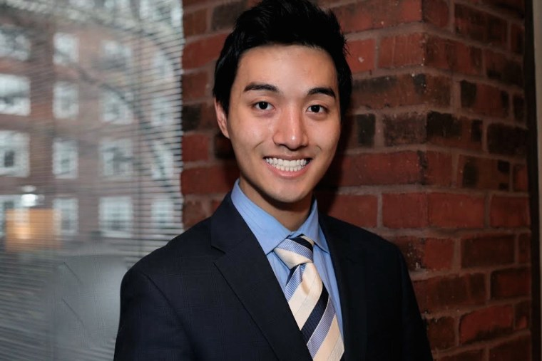 Joseph Choe, 20, made headlines in April 2015 when he asked Japanese Prime Minister Shinzo Abe a question about comfort women.