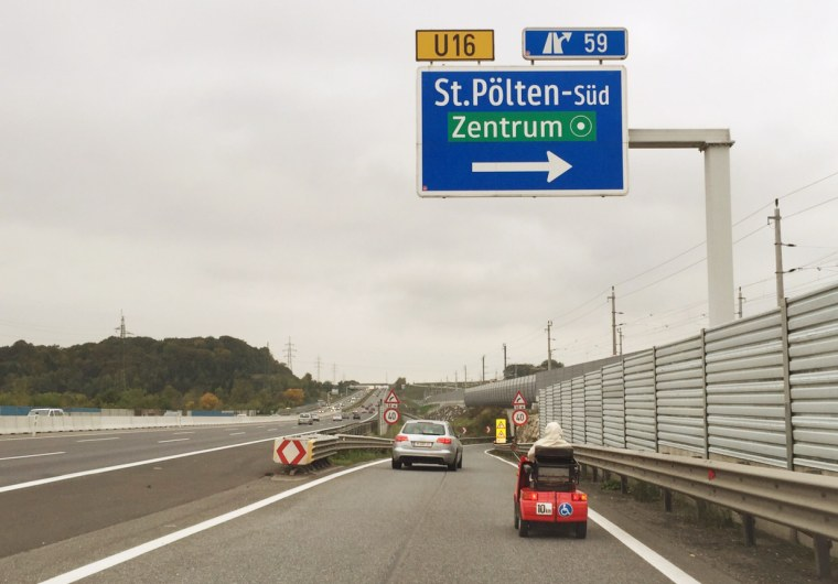 The speed limit on Austrian autobahns is 81mph.