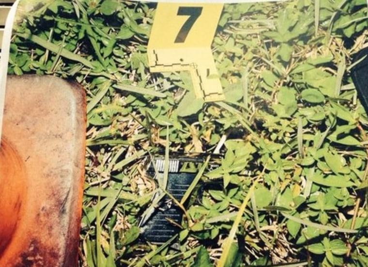IMAGE: Gun recovered from shooting scene