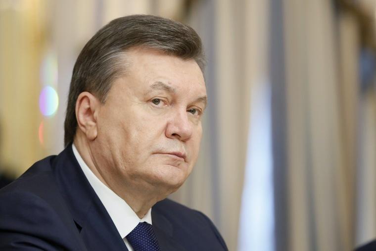 Image: Viktor Yanukovych in Feb. 2014
