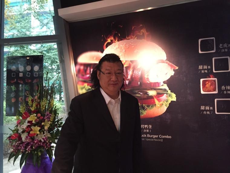 Image: Dong Zhenxian, chef and owner of Da Dong Peking Duck chain