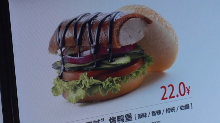 Image: Classic Crispy Lean Roast Duck Burger