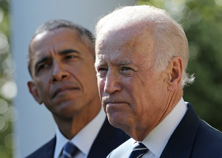 Image: Vice President Joe Biden announces that he will not seek the presidency