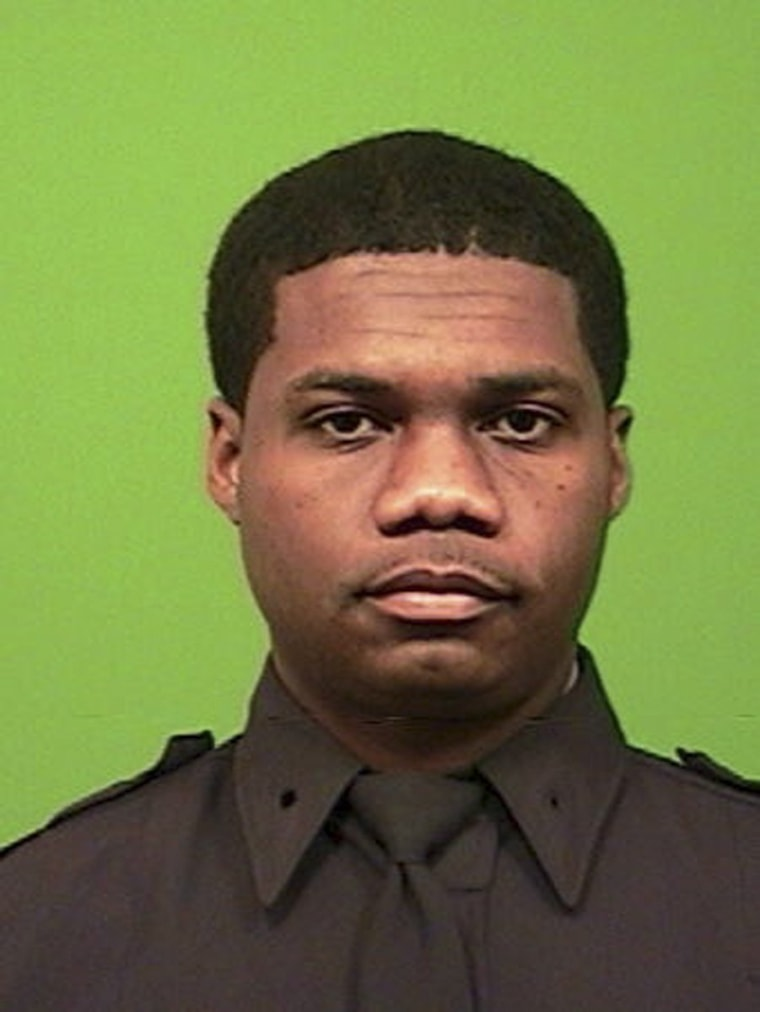 Image: Handout of NYPD officer Randolph Holder in New York