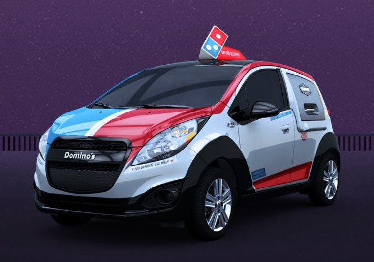 Domino's DXP Car Is a Mobile Pizza Headquarters for the ...