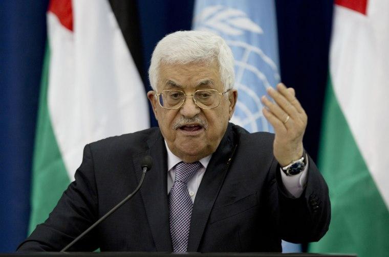 Image: Palestinian President Mahmoud Abbas