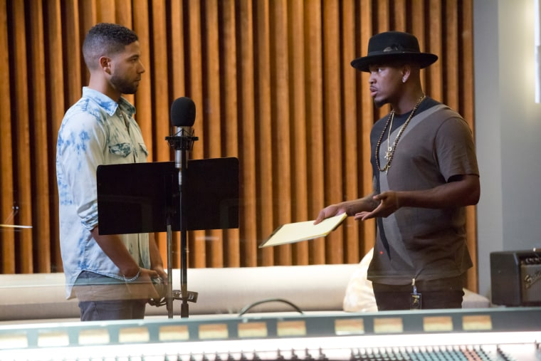 Image: Jussie Smollett and music guest star Neo