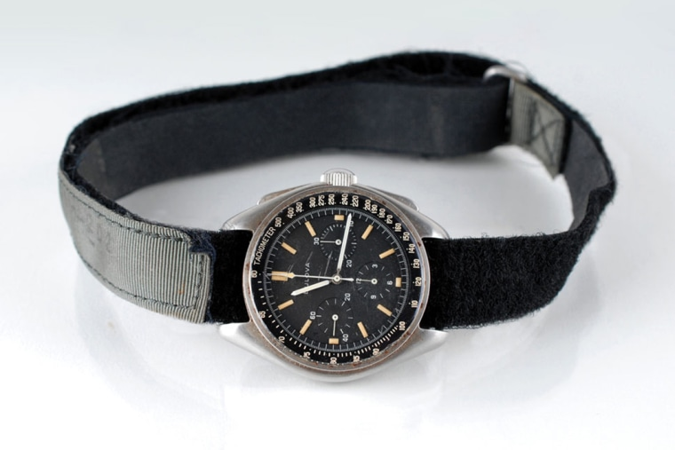 Image: The Bulova Chronograph worn by David Scott on the Moon is up for auction.