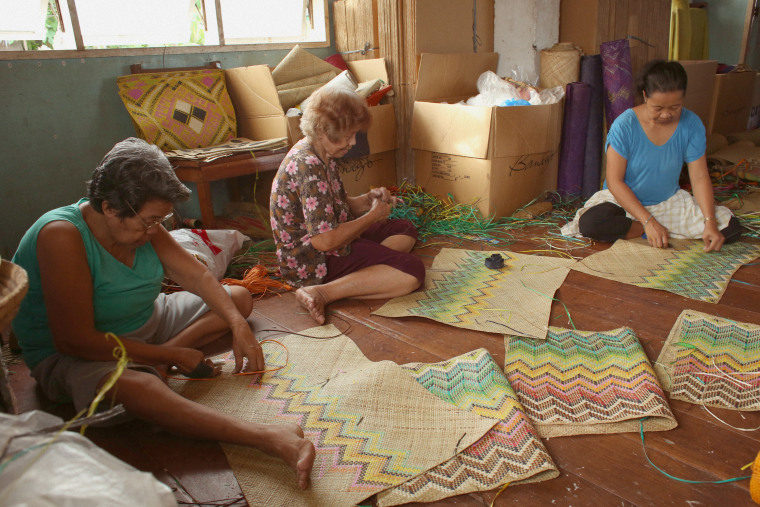The Banago brand continues to work with local artisans and farmers in the Philippines to secure livelihoods and give opportunities to rebuild lives following Typhoon Haiyan in 2013.