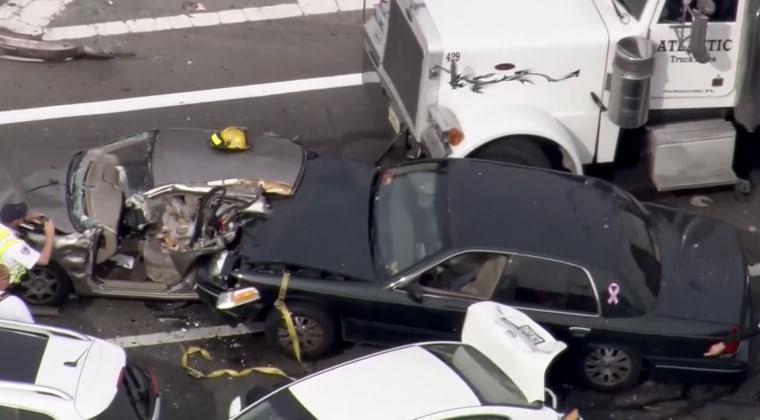 Aerial shot of last week's fatal crash on State Road 436 and 434 in Altamonte Springs.