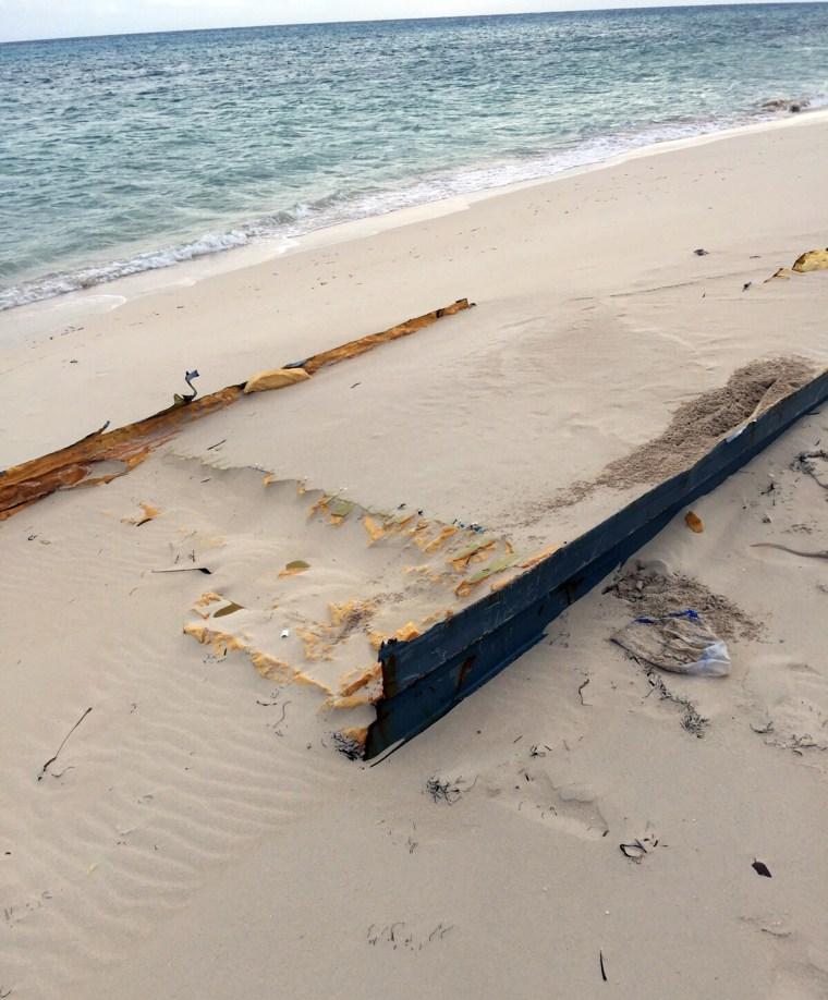 Possible debris from the El Faro.