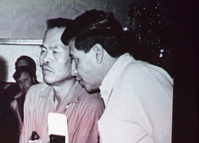 Though Cesar Chavez is widely known, it was Larry Itliong who was the first to strike in Delano in 1965 when he organized the Filipino members of the Agricultural Workers Organizing Committee.
