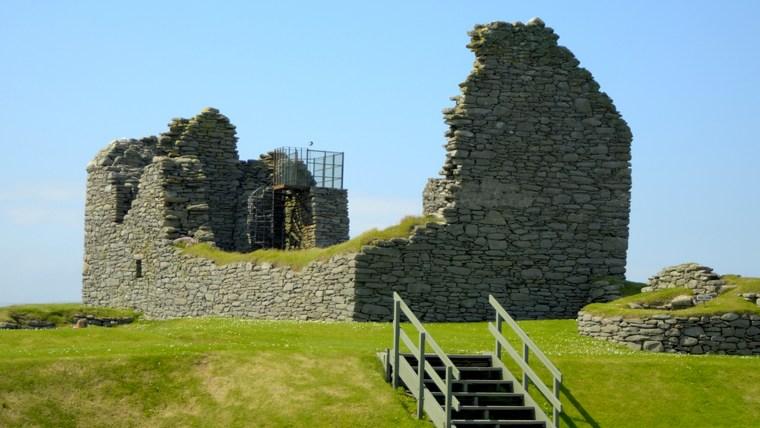 Jarlshof Ruins in the Shetland Islands