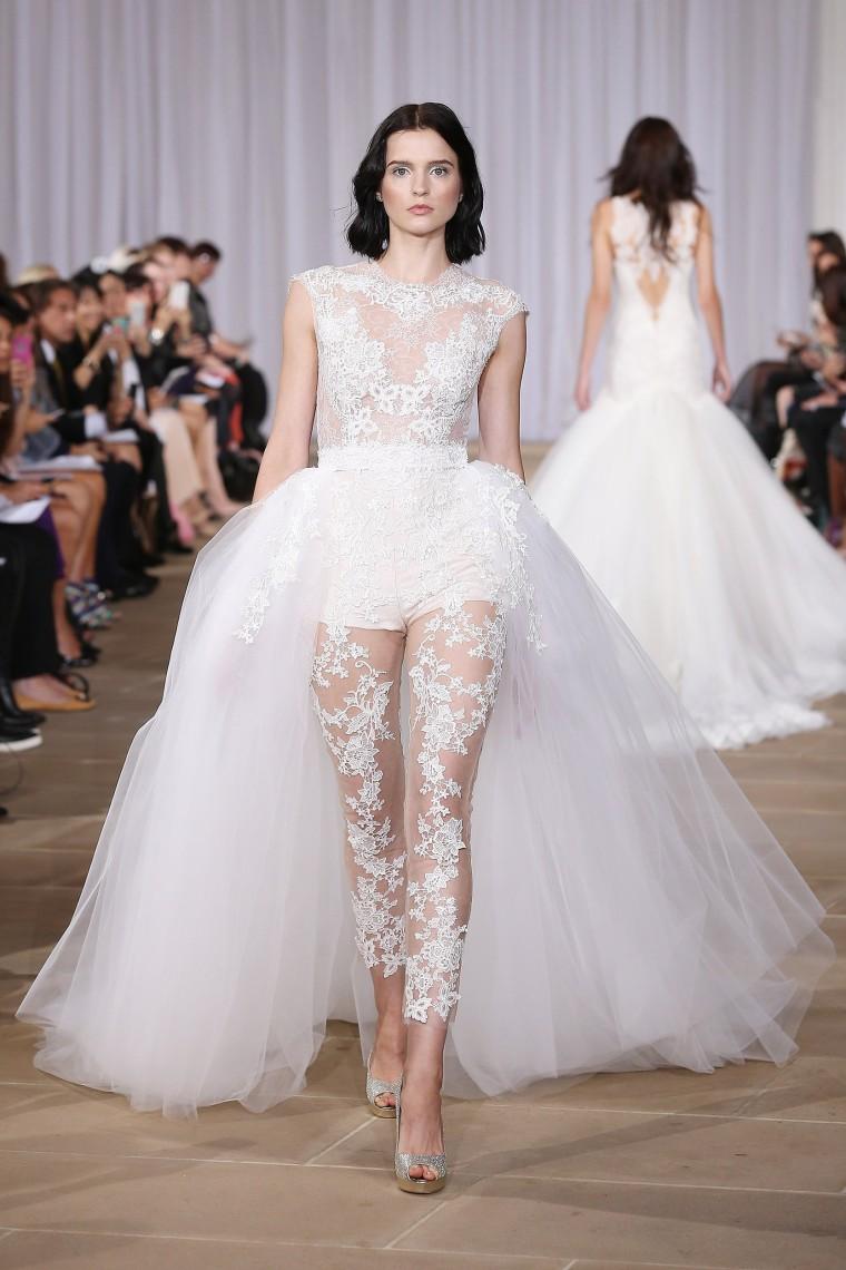 Wedding dresses: Bridal Fashion Week trends