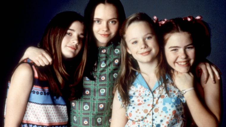 NOW AND THEN, Gaby Hoffmann, Christina Ricci, Thora Birch, Ashleigh Aston Moore, 1995. (c)New Line C