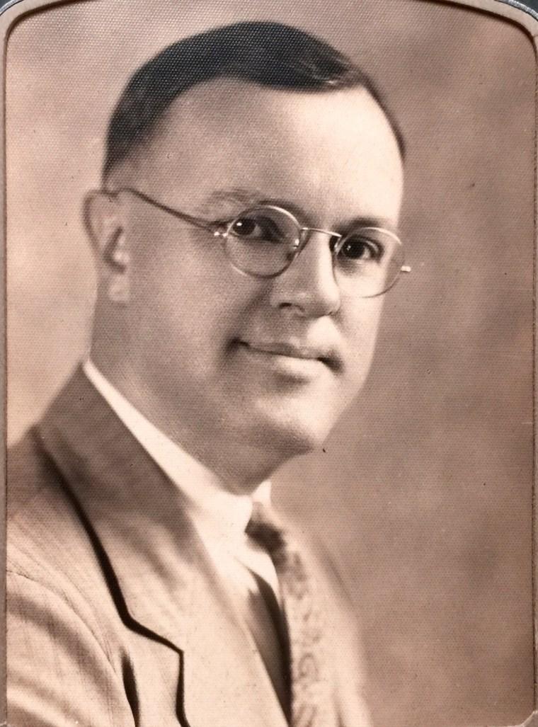 Bob Dotson's maternal grandfather, Paul Bailey