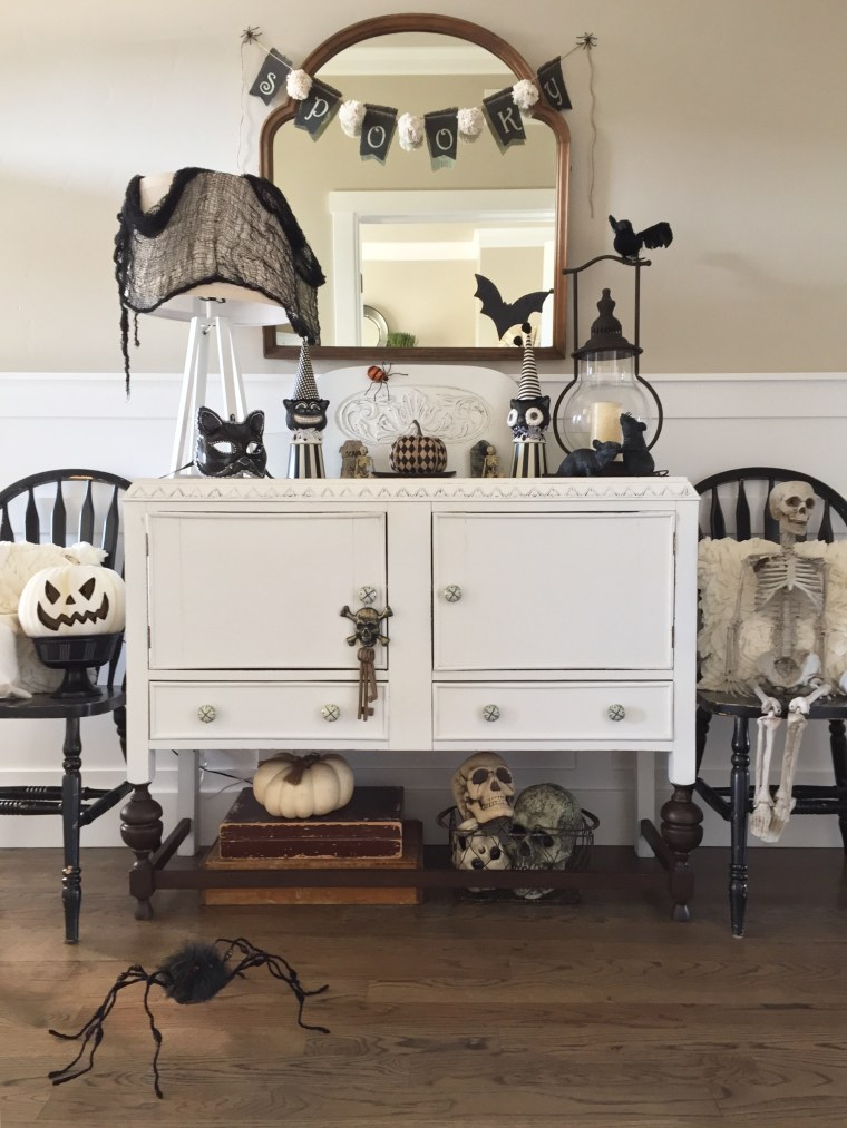 Interior decorating ideas for Halloween