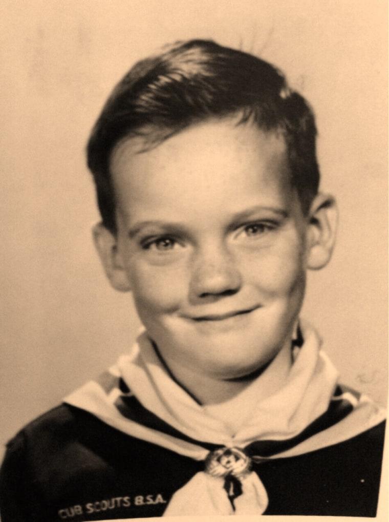 Bob Dotson at age 8