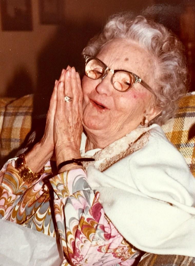 Bob Dotson's grandmother, Marguerite Bailey