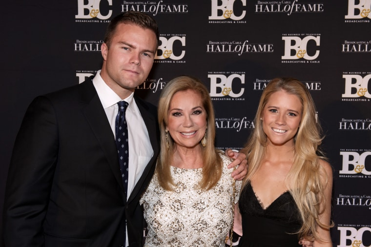 Kathie Lee Gifford with her children, Cody and Cassidy.
