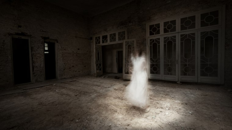Ever wonder how to take a picture of a spooky scary ghost?