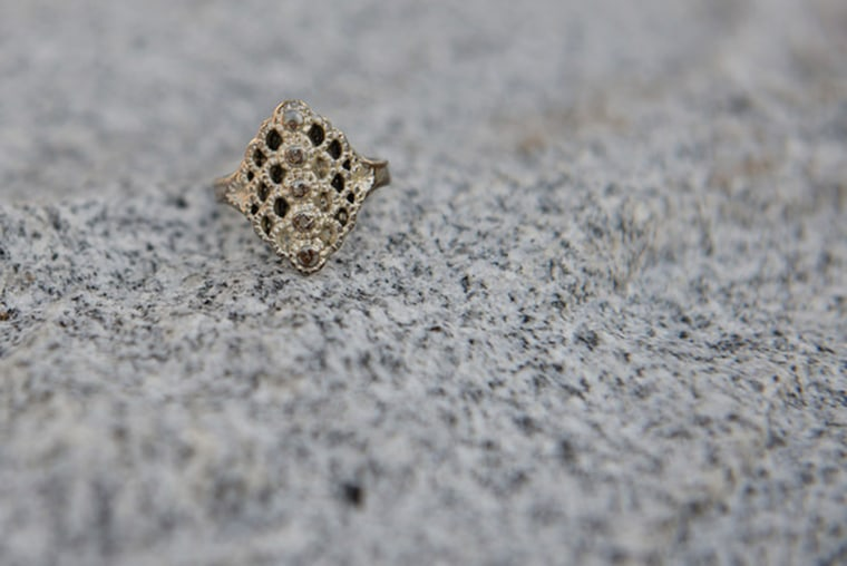 Mom's ring is memento from daughter who died