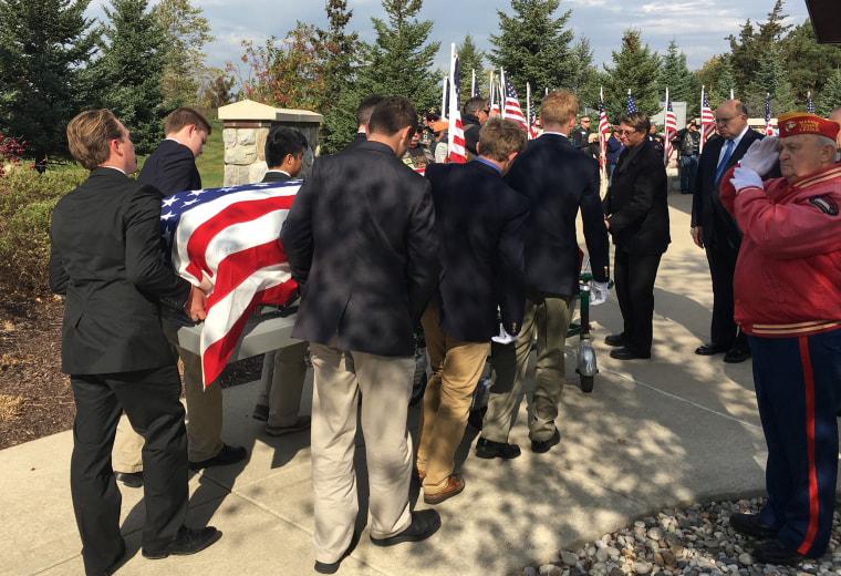 Teens serve as pallbearers for fallen veterans