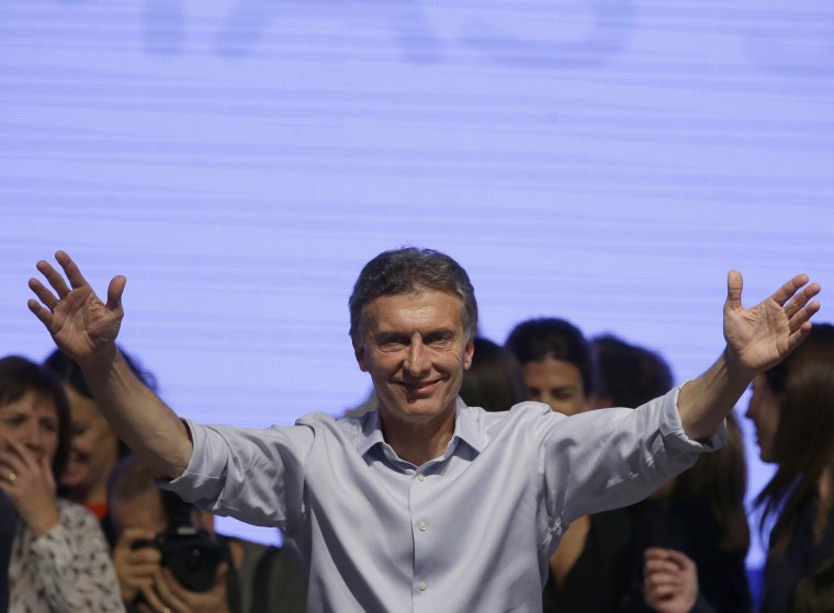 Image: Mauricio Macri