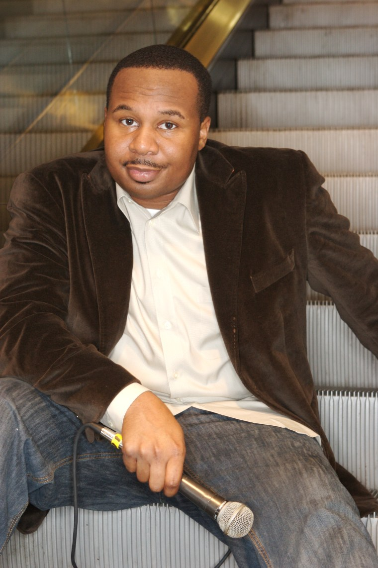 """Roy Wood Jr., one of the newest correspondent on """"The Daily Show with Trevor Noah."""""""