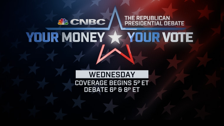 CNBC Debate Promo