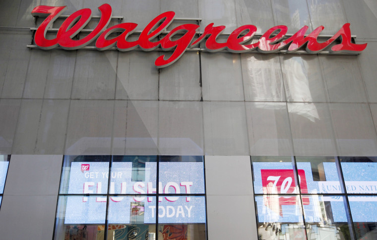 Image: File photo of a Walgreens store in New York City