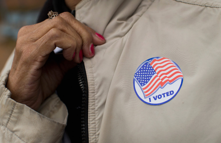 Ferguson, Missouri Residents Vote On Election Day