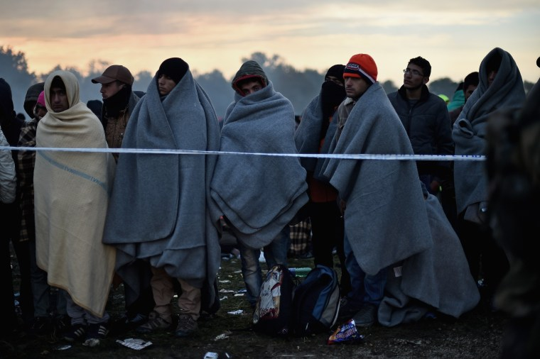 Image: Migrants Cross Into Slovenia