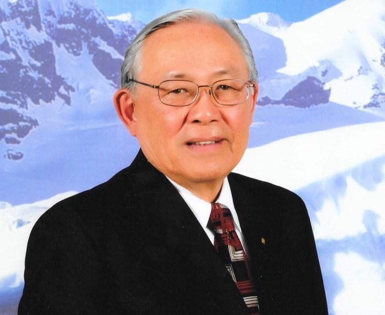 Roger Eng Sr. in 2013