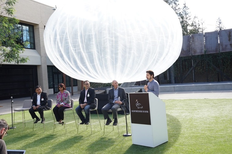 Image: Project Loon announement