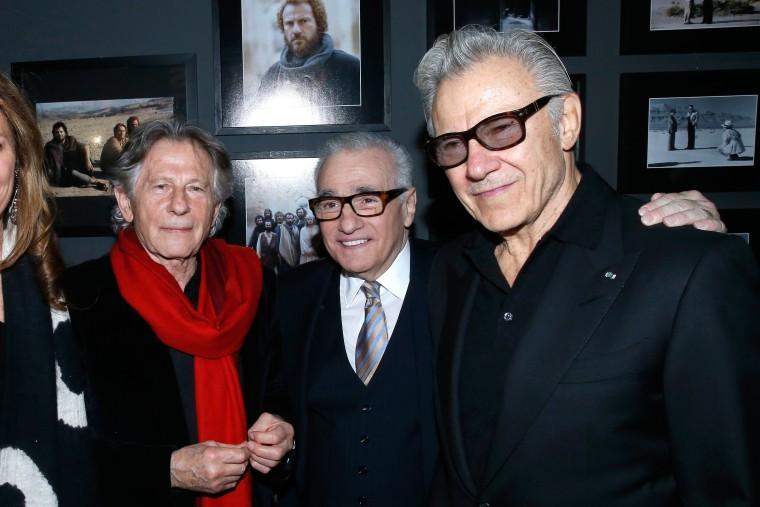 Image: Roman Polanski, Martin Scorsese and Harvey Keitel